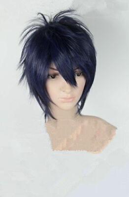 Ao no Exorcist okumura rin Womens Short Fancy Dress Cosplay Wigs Full Wigs