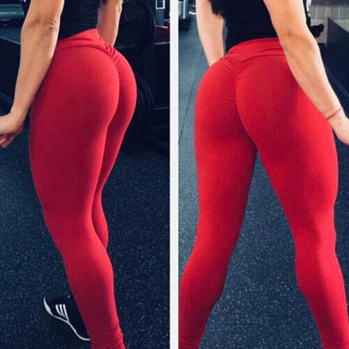 Women Yoga Workout Gym Legging Fitness Pants Running Scrunch Butt lift Shorts TS