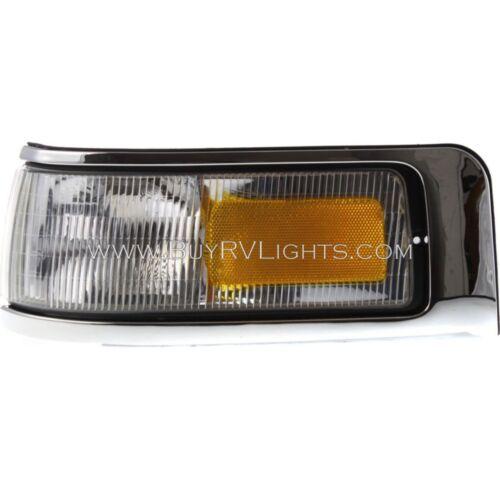 REXHALL AERBUS 2000 2001 2002-2004 LEFT DRIVER CORNER TURN SIGNAL LIGHTS LAMP RV