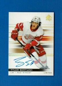 2019-20-SP-Authentic-TYLER-BERTUZZI-Limited-Autograph-Detroit-Red-Wings