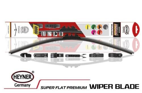 "Ford Mondeo 2007-2014 HEYNER SUPER FLAT PREMIUM wiper blades 26/""19/"" FRONT"