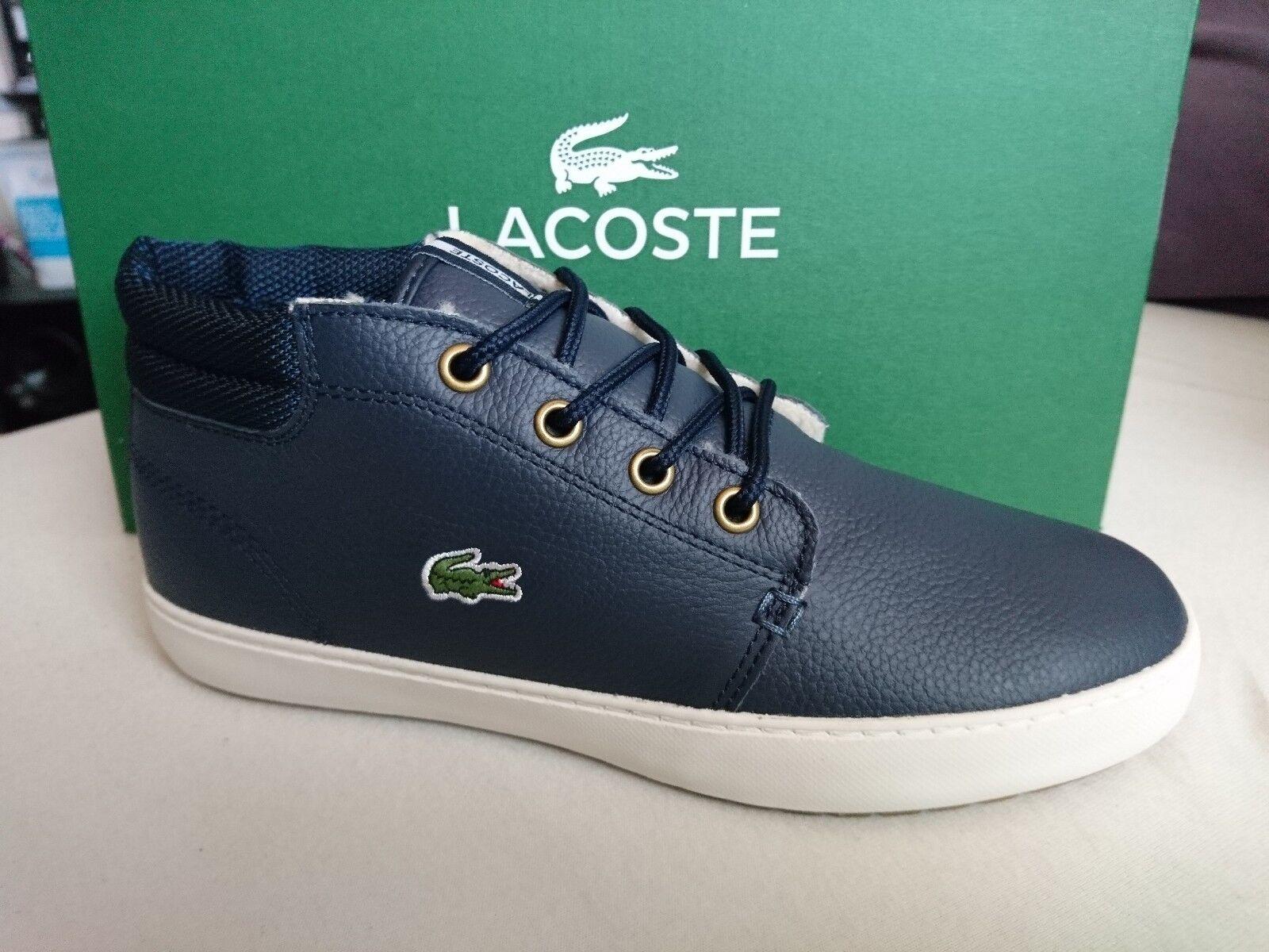 Lacoste Ampthill Terra SUSCEPTANCE 2 SPW Chaussures Femmes baskets warmfutter Bleu Nouveau