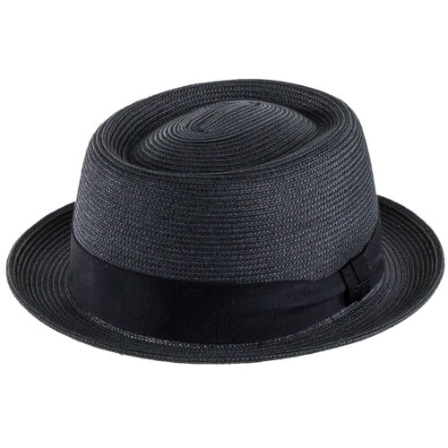 Black Bailey Hats Waits Pork Pie