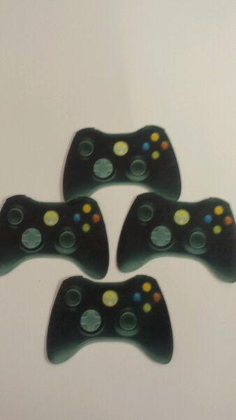 PRECUT Xbox Console Controller 12 Edible Cupcake Toppers Birthday Decorations