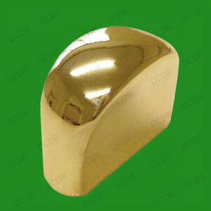 12x Mini Polished Brass Pull Knob 16mm Kitchen Cabinet Door Drawer Wardrobe Desk