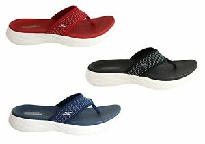 Brand-New-Skechers-Womens-On-The-Go-600-Comfortable-Cushioned-Lightweight-Thongs