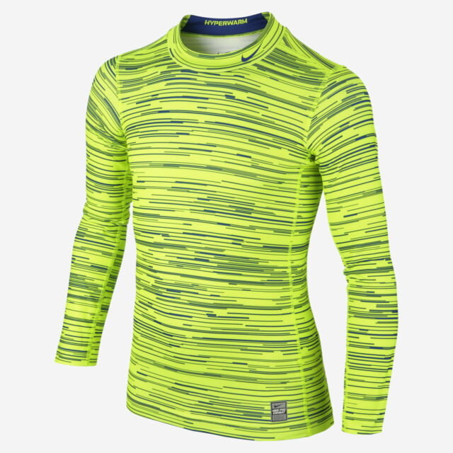 c7483041 Nike Pro Combat Dri Fit Compression Insulated Base Layer Long Sleeve Shirt  Boys for sale online | eBay