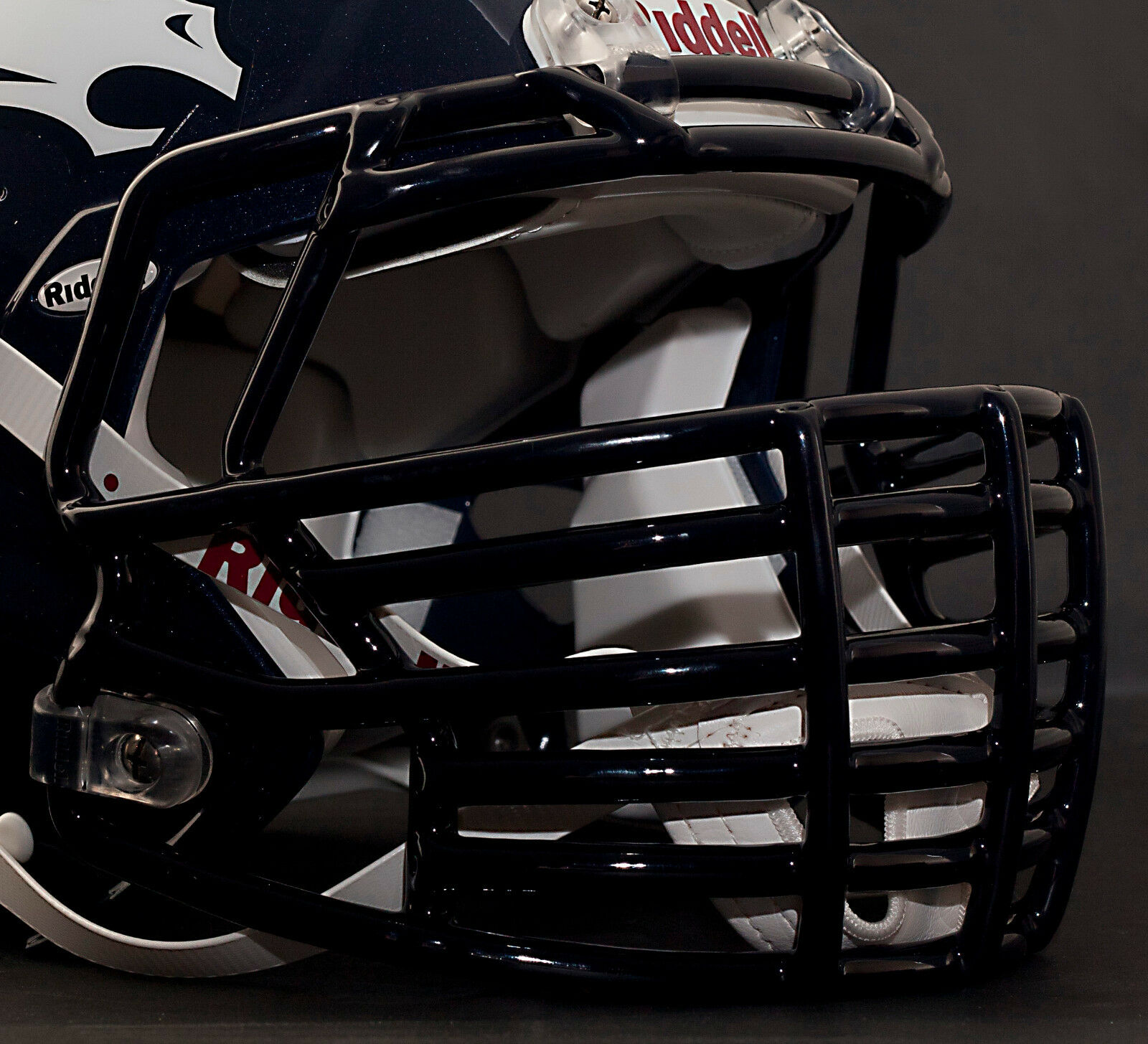 DENVER BRONCOS Riddell Speed BIG GRILL S2BDC-HT-LW Football Helmet Facemask