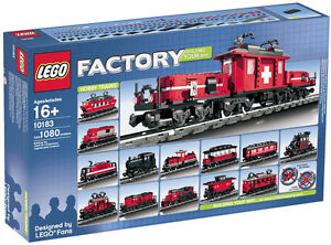 LEGO-Town-Factory-Trains-10183-Hobby-Train-NEW-Sealed