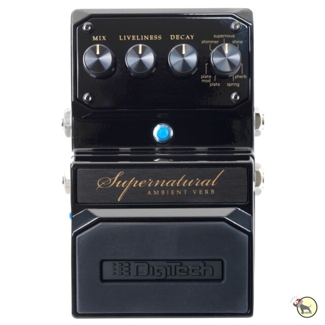 digitech supernatural reverb guitar effect pedal for sale online ebay. Black Bedroom Furniture Sets. Home Design Ideas