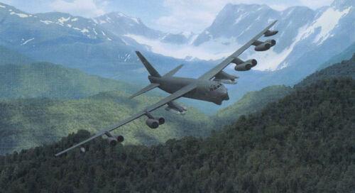 "B-52H /""Buff/"" /""Mountain Fortress/"" Dru Blair Signed Print"