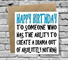 GREETINGS CARD BIRTHDAY FUNNY HUMOUR RUDE DAUGHTER BEST FRIEND WIFE GIRLFRIEND