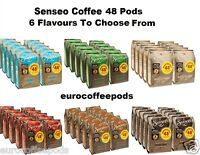 Douwe Egberts Senseo 48 Coffee Pods / Pads, 10 Packs - 6 Flavours To Choose From