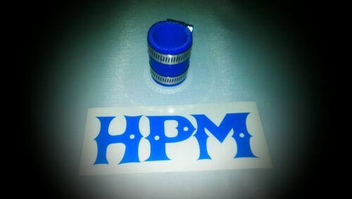 "HPM 5 Ply /"" BLUE /"" TRX250R Exhaust Coupler"