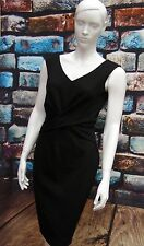 COAST MATENA BLACK STRETCH JERSEY WIGGLE DRESS RRP £139 Size 12