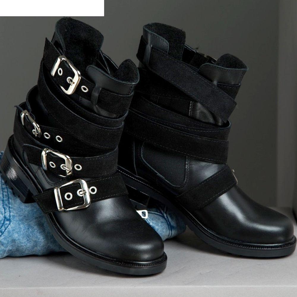 BY ALINA Stiefeletten Damenschuhe Stiefel Schuhe Stiefel schwarz Wildleder  V38