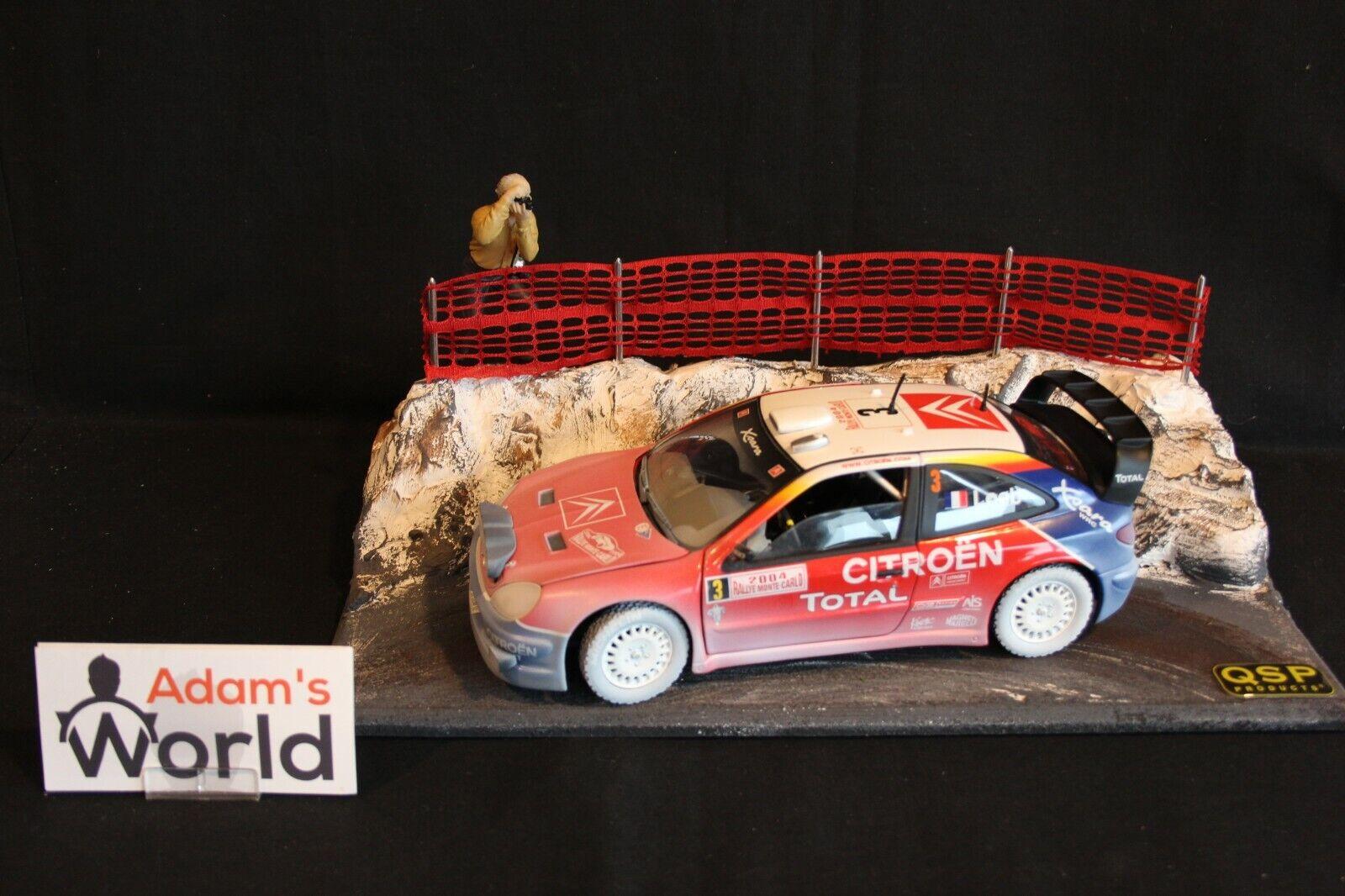QSP Diorama 1 18 Rallye Monte-Carlo type 1