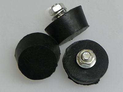 3 Gummipuffer F.schleuder,4 Cm D.2 Cm H.,imkerei,imker,honigschleuder