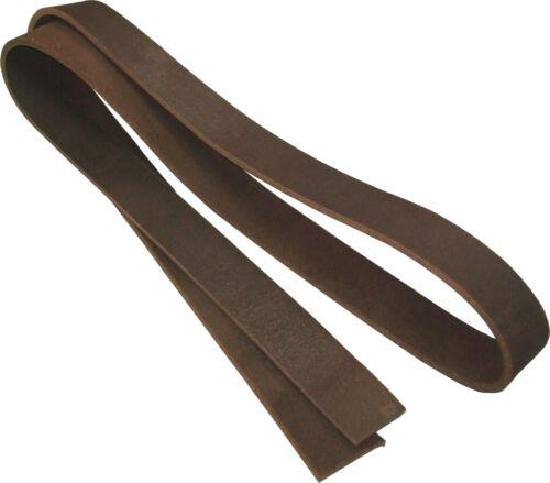 Lederriemen Schwertgürtel Gürtelriemen Latigo schwarz d.braun m.braun reißfest