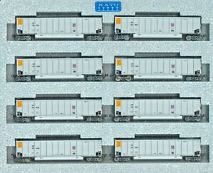 KATO 106-4626, N Scale,  Set of 8 Bethgon Bogie Coal Porters Union Pacific