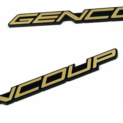 DTK Car Decals Stickers Nickname Emblem Badge 30043 G for Hyundai GENESIS COUPE