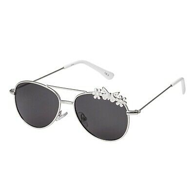 49a73b4919b2 Childrens Kids Silver with White Butterfly Classic Style Pilot Sunglasses  UV400 711583640186 | eBay