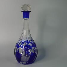 Ravenscroft Crystal Duck Decanter 46-Ounce Cobalt Blue
