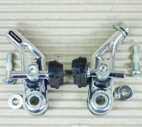 SHIMANO CANTILEVER BREMSE BR-CT91 S50T Bremsbelag für Alu silber VORNE