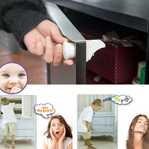 4pcs-Baby-Safety-Magnetic-Invisible-Cupboard-Cabinet-Door-Drawers-Locks-1-Key