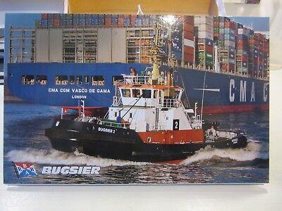 Der Letzte Bugsier Und Bergungs Reederei Kalender Von 2018 Schlepper Hafen Tug Tropf-Trocken