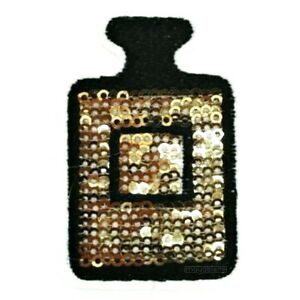 Patch-Patches-Parfum-Perfume-Perfume-Sequins-Iron-On-Patch-Gold-Glitter-Jeans