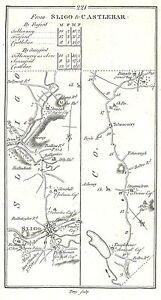Antique-map-Road-from-Sligo-to-Castlebar-1