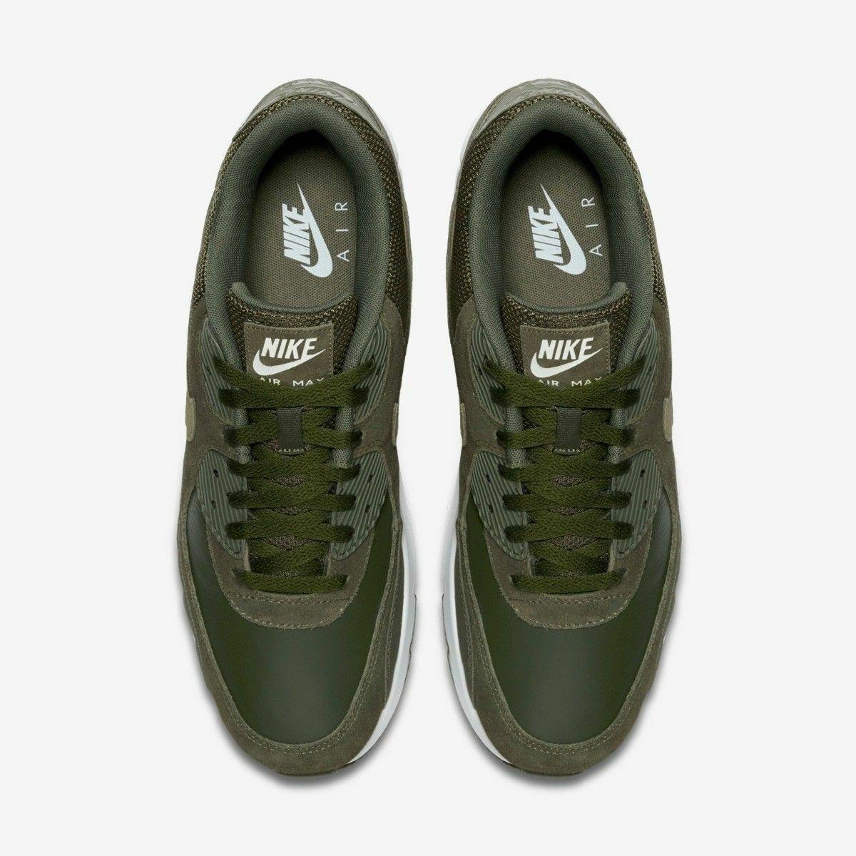 wholesale dealer e8711 a354c ... Nike Air Max 90 Ultra 2.0 2.0 2.0 Ltr 924447-300 Leather Cargo Khaki  Med ...