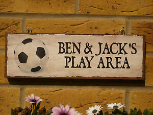 PERSONALISED-GARDEN-SIGN-CHILDS-SIGN-PLAY-AREA-SIGN-OWN-NAMES-OWN-WORDING-BALLS