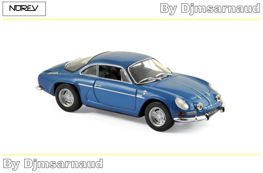 Alpine Renault A110 1973 bleu NOREV -  NO 517820 - Echelle 1 43