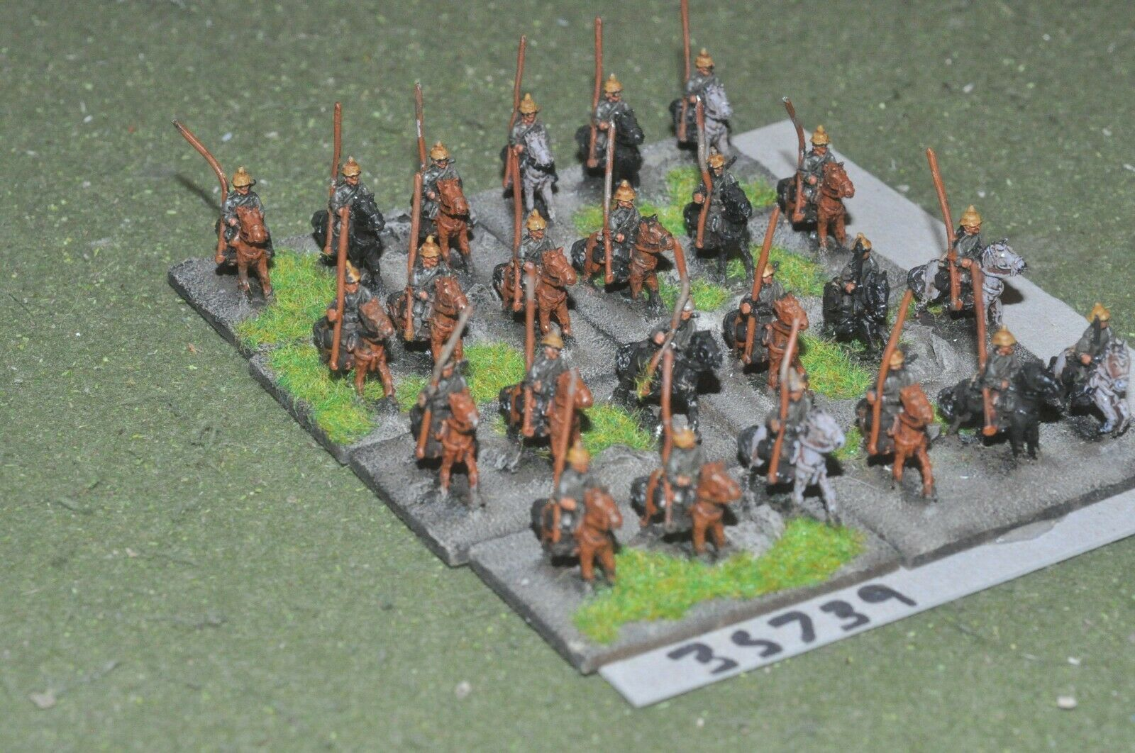 10mm WW1   german - battle group 24 figures - cav (35739)