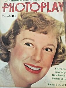Vintage-Collectible-Photoplay-Movie-Magazine-June-Allyson-December-1950