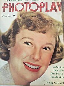 Vintage-Collectible-Photoplay-Movie-Magazine-June-Allyson-December-1950