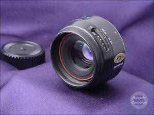 Olympus OM Power Focus 50mm f2 Fast Standard Prime Lens - VGC - 5664