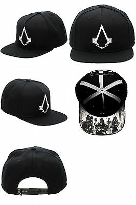 NEW Assassins Creed Syndicate Black Snapback Snapback Video Game Hat