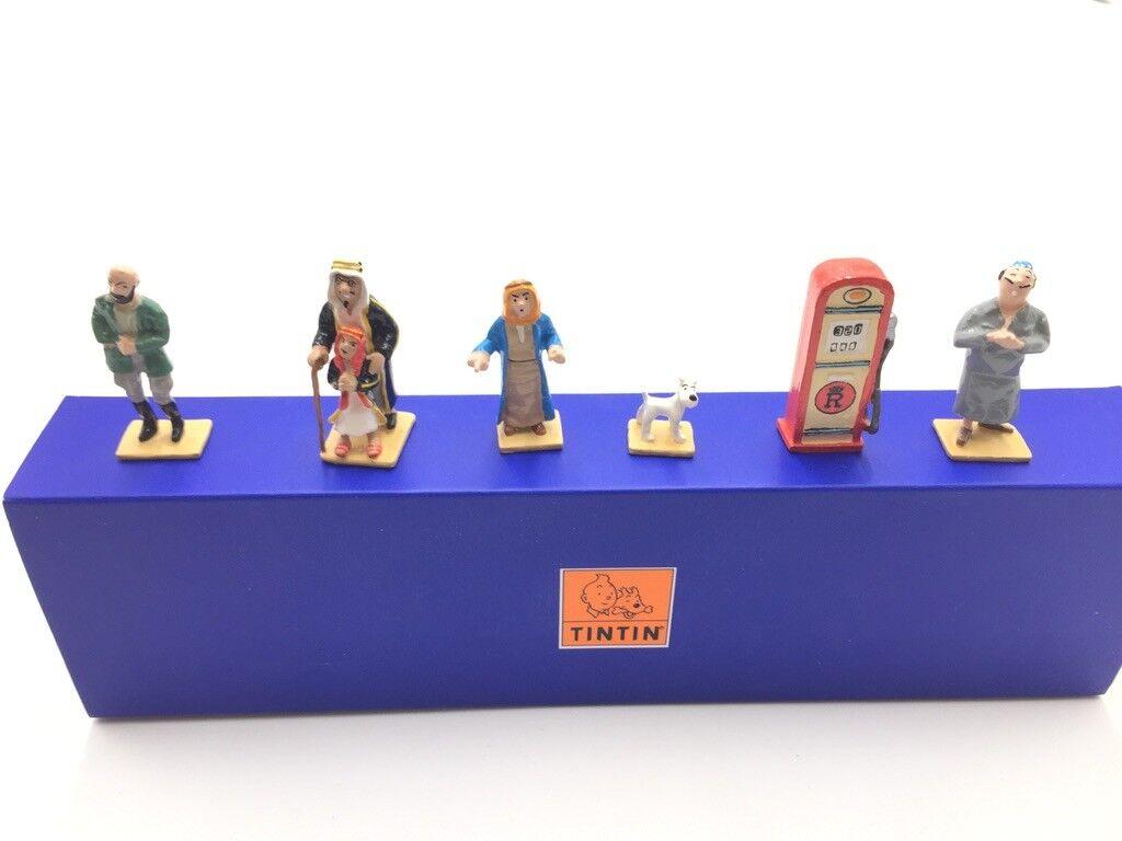 Figurine Tintin mini Pixi tintin et l'or black proche du neuf boite Certificat