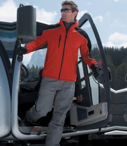 Homme Result Travail-Garde de la glace est tombé à Capuche Soft Shell Veste Softshell 3XL Manteau