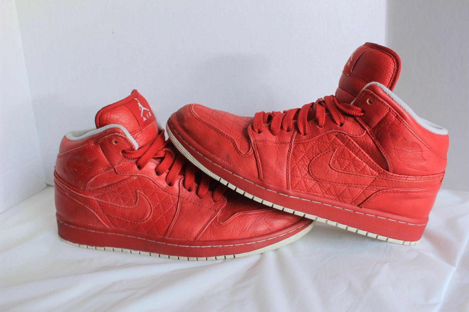 RARE!! Nike Air Jordan Shoes 1 Phat Premier Quilt Varsity Red Sz 11  375173-600 The most popular shoes for men and women