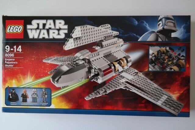 LEGO StarWars 8096 - Emperor Palpatine's Shuttle mit Bauanleitung und OVP