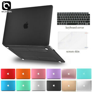 For-Macbook-Air-13-inch-Matte-Hard-Case-Shell-2016-2019-Keyboard-Skin-LCD-Film