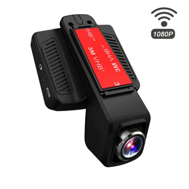 """TOGUARD 2.45"""" Caméra de Voiture WiFi Caméra HD 1080P Enregistreur vidéo DVR 170°"""
