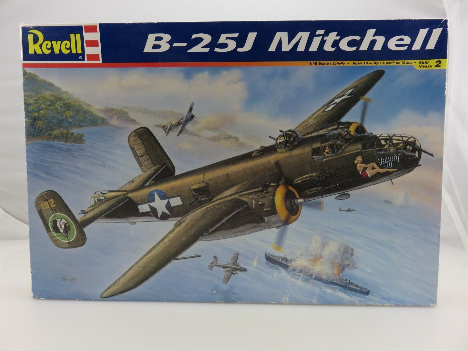 Revell B-25J MITCHELL 1 48 Scale Plastic Model Kit UNBUILT 2004