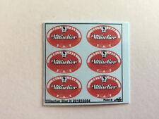 Villacher Bier Decals 1:160 oder Spur N Wasserschiebebilder