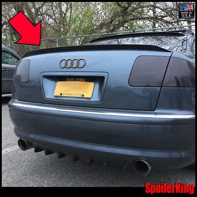 Fits: Audi A8//A8L 2002-2009 D3 SpoilerKing Rear Trunk Spoiler DUCKBILL 284GC