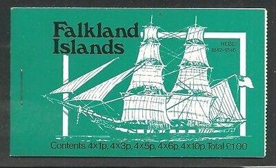 Süd- & Mittelamerika Original Album Schätze Falkland Ist Scott #260/269 Sailing Ships Komplettes Blooklet Mnh
